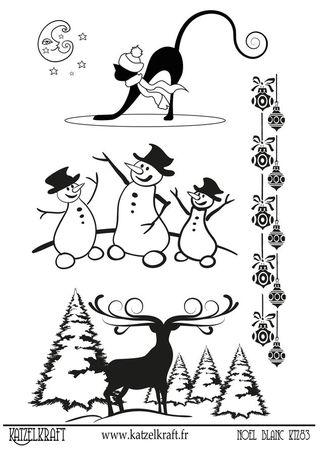 KTZ83 Noël blanc